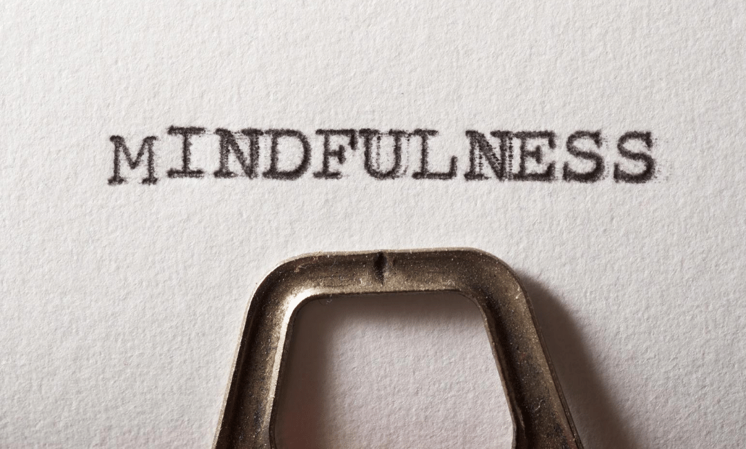 Practicing mindfulness for improved wellbeing